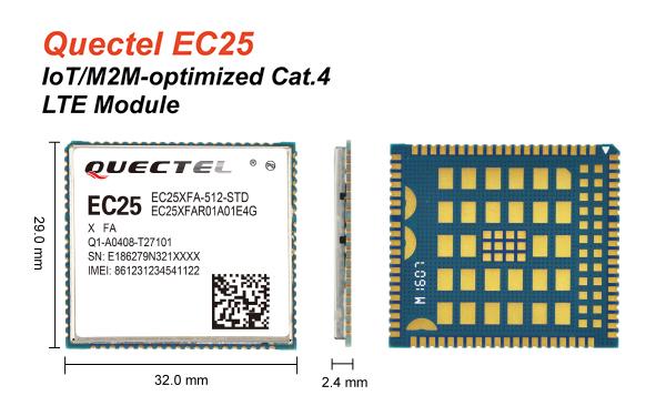 EC20 EC21 EC25 4G RS232 Modem Fastrkack Supreme 20_Shenzhen